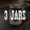 3 Jars of Blackberry Fire Jelly
