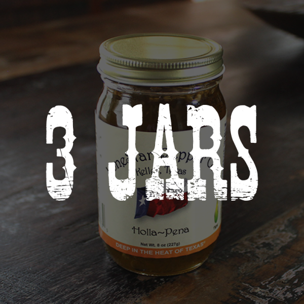 3 Jars of Holla Pena Jelly